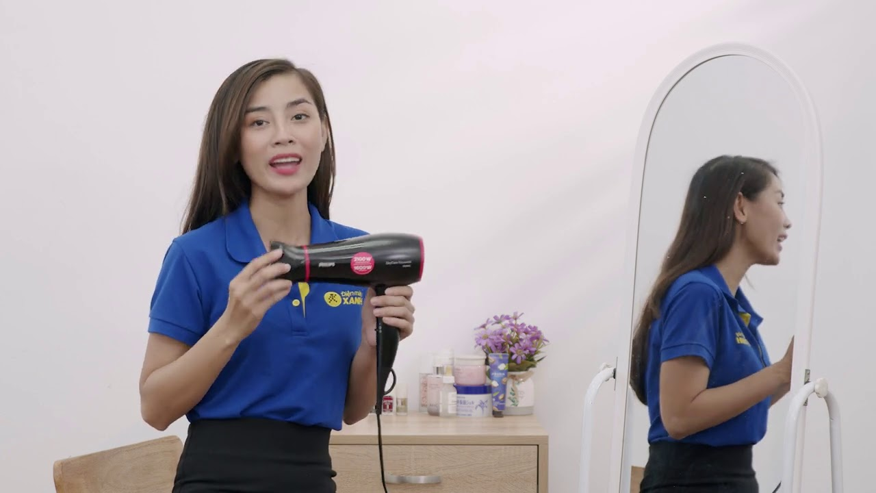 Máy sấy tóc Philips BHD029/00 - Điện máy XANH