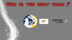 WHO IS THE BEST TEAM ? - Cyprus First Division 2018/2019