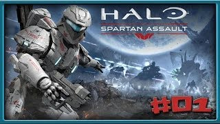 Let's Play: Halo Spartan Assault #01   [German] [HD+]