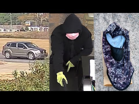Mike McConnell - Clumsy bank robbery suspect trips 3 times in bushes during apparent escape