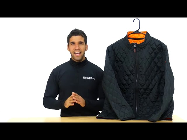 Product Video - Lightweight Diamond Quilted Jacket⠀