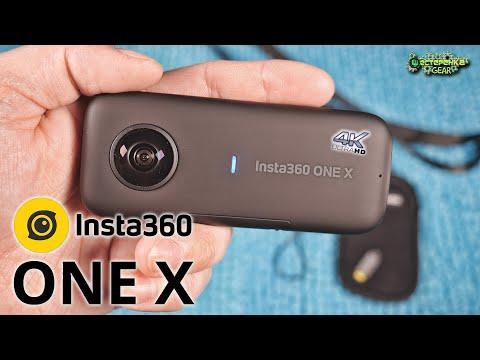 INSTA360 ONE X полный обзор камеры (4k)