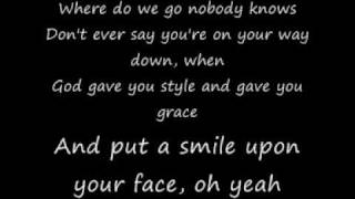 coldplay god put a smile upon your face-lyrics