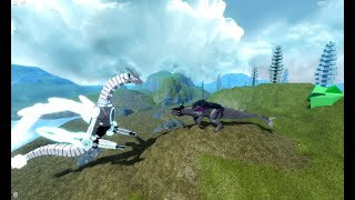 Roblox Dinosaur Simulator - Megavore VS Zenova