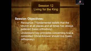 The Story of Scripture Session 12