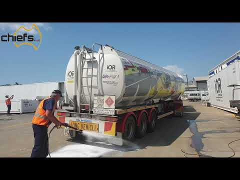 Touchless Tanker Clean