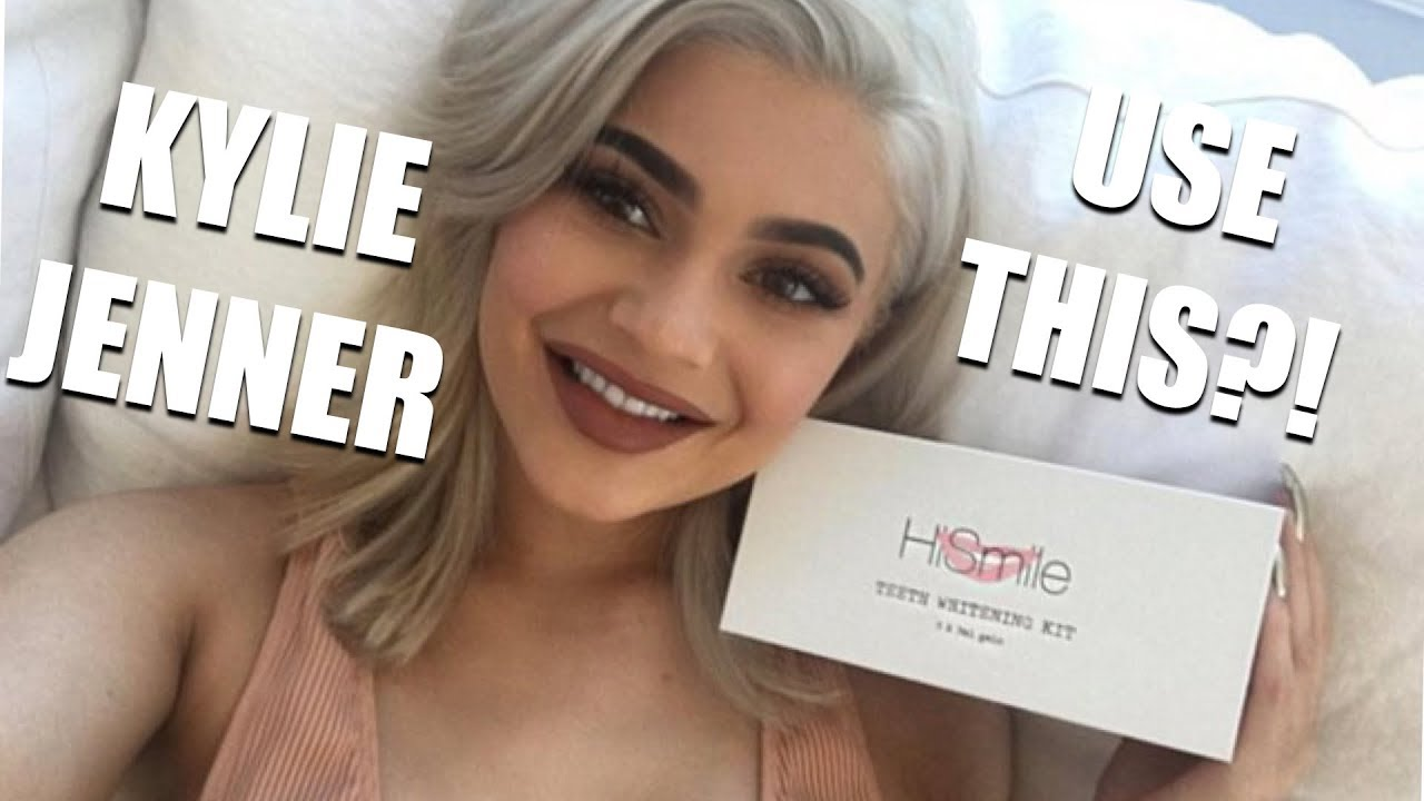 Kylie Jenner S Whitening Teeth Hismile Honest Review Youtube
