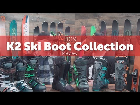 2019 K2 Ski Boot Collection - Overview