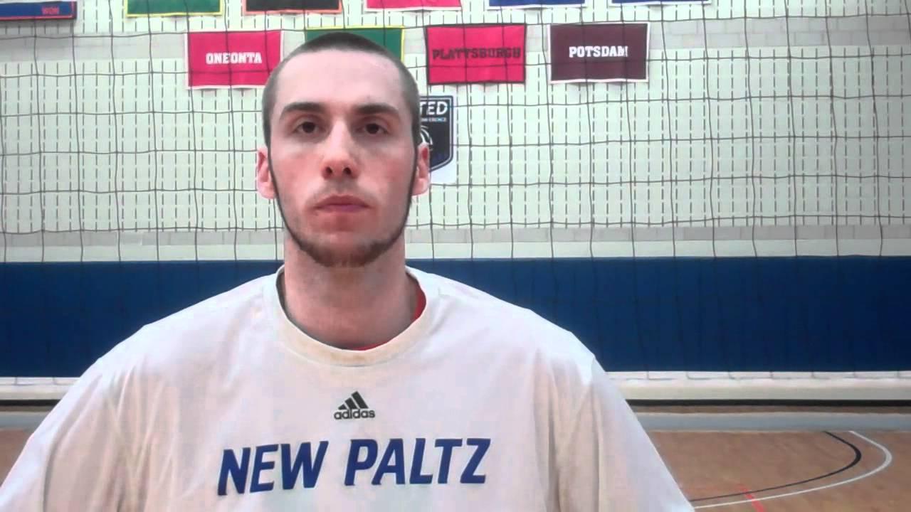 New Paltz Men's Volleyball vs. NYU (3/28/12) - YouTube