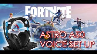 How To Get Astro A50 Gaming Headset Game:Voice Balance Work on PC For Fortnite
