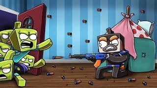 Minecraft - NERF WAR MOD - Armor, Snipers, Machine Gun! (ULTIMATE NERF MOD)