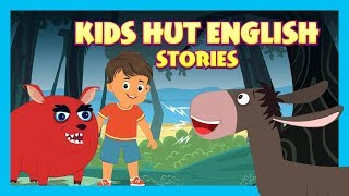 KIDS HUT ENGLISH STORIES - BEST STORIES FOR KIDS | WHERE THE WILD THINGS ARE AND MORE - STORYTELLING