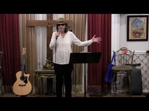 Rosemary Valentino ministering at Samantha's Li'l Bit of Heaven