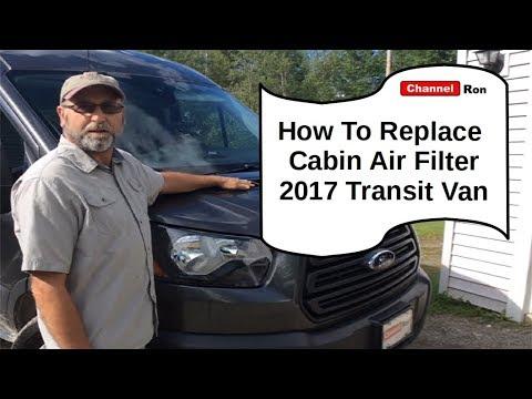 How To Replace Cabin Air Filter 2017 Transit Van