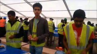 MKA Yorkshire Waqar e Aml before Jalsa Salana UK 2013