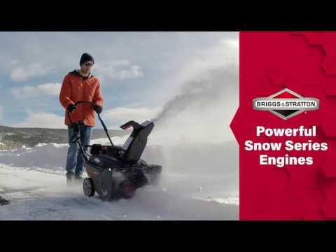 Снегоуборщик бензиновый Briggs&Stratton 1022E