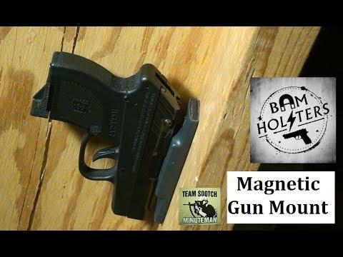 Covert Magnetic Gun Mounts Youtube