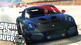 GTA V : FUGA DA POLICIA COM A PORSCHE 911 GT3 : GTA 5 MODS