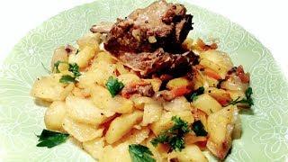 Говяжьи ребрышки в духовке с картошкой! Рецепт!