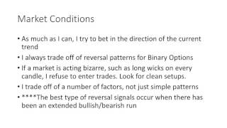 Binary Options- My Personal Trading Rules