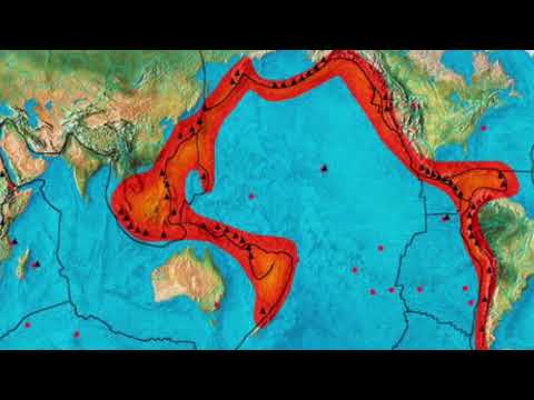 Ring of Fire rocked by 19 earthquakes in a DAY Tremors up to 58 magnitude hit Pacific