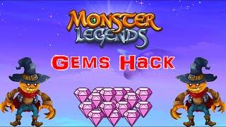 Monster Legends - Gems Hack 2016