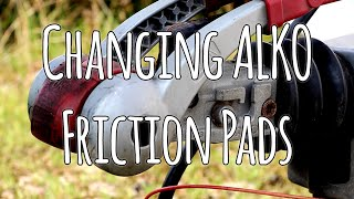 How to change ALKO Hitch friction pads
