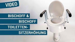 Produktvideo zu Toiletten-Sitzerhöhung Bischoff & Bischoff TSE-A