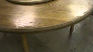 Antique Furniture Repair Llc  Water Damage Dining Room Table 1 Of 2