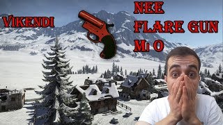 PUBG VİKENDİ HARİTASINDA FLARE GUN PATLATTIM ( Pubg Vikendi Flare Gun)
