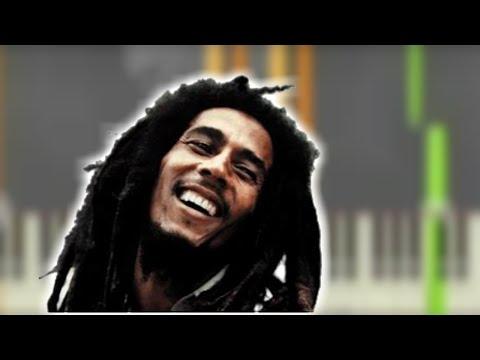 "Piano reggae piano chords : ♬ BOB MARLEY - ""Natural Mystic"" Piano Tutorial Video ""REGGAE ..."