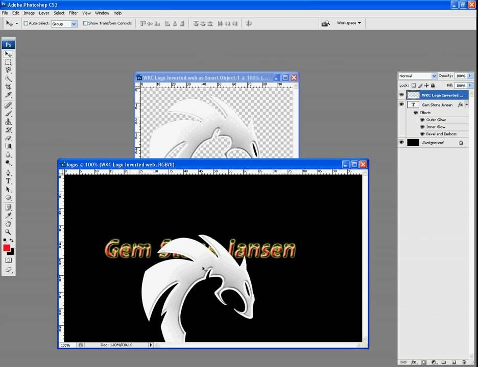 How to make a company logo in photoshop cs4 h шапки для юкоз по теме кс го
