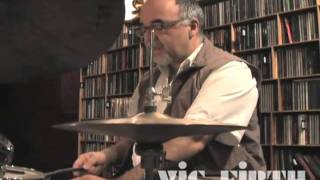 Peter Erskine Brush Lessons: #5 / Bossa / Pop Grooves