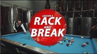 Billiards Tutorial for Beginner: How to Rack & Break!!!!