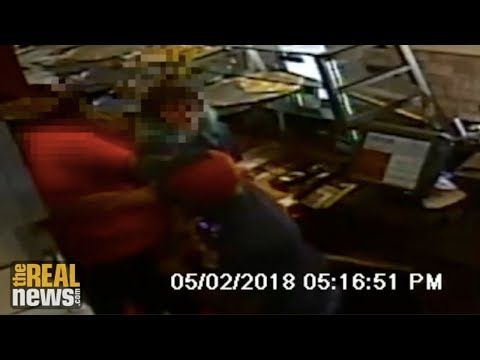 Cop Caught on Camera Assaulting a Pizza Worker, City Won't Say if He's Still on the Force