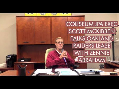 Oakland Coliseum JPA's Scott McKibben Interview On Raiders Lease