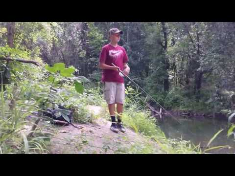 Bass Fishing at the Erie Canal NY