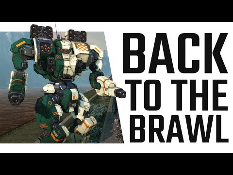 Back to the Brawl! Warhammer WHM-7S Brawling Build - Mechwarrior Online The Daily Dose #425