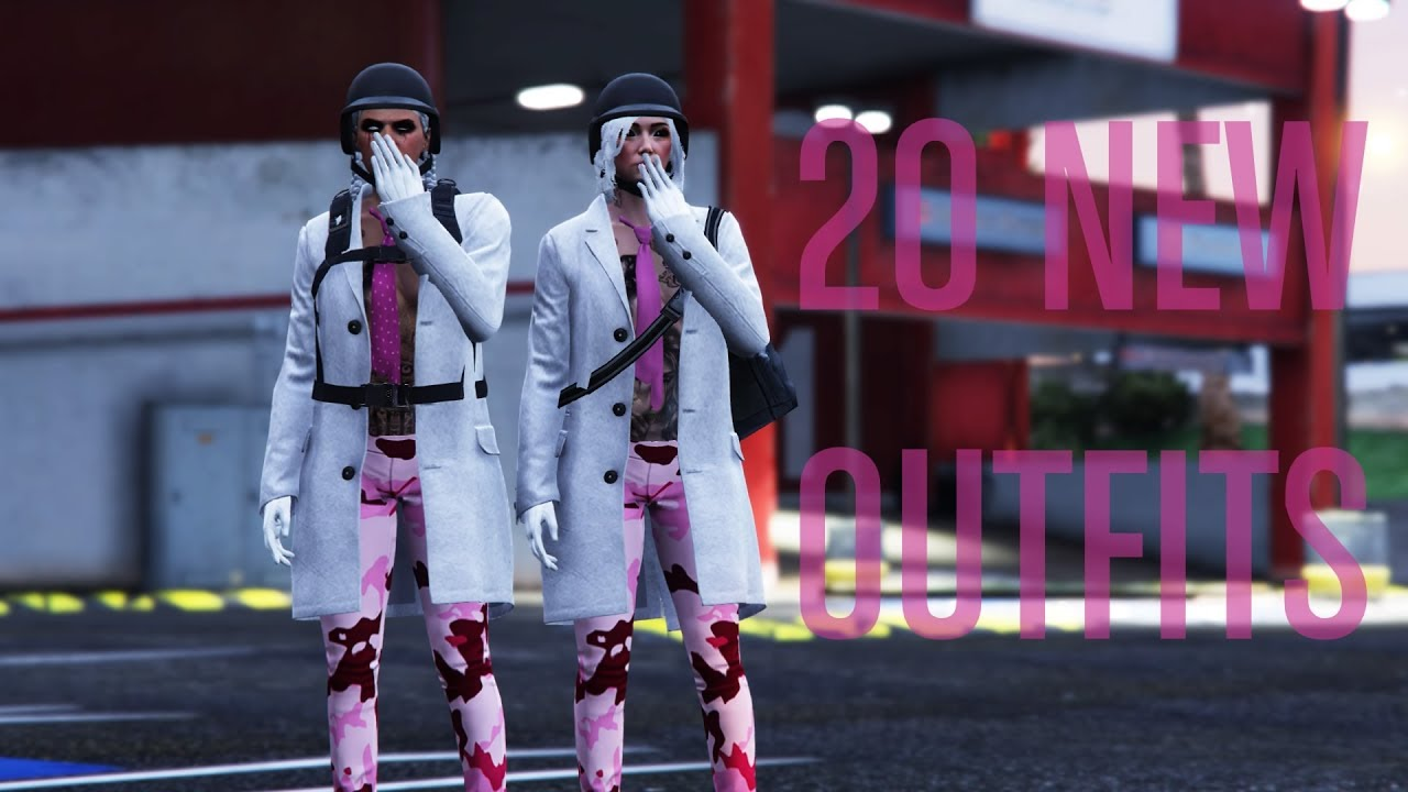 GTA Online | 20 NEW Tryhard *Female* Outfits - YouTube