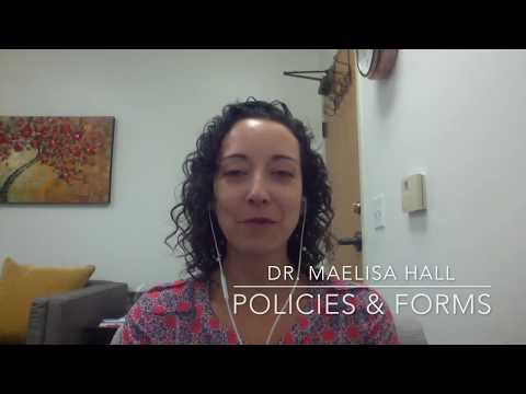 Documentation Consult: Mental Health Policies, Forms and HIPAA
