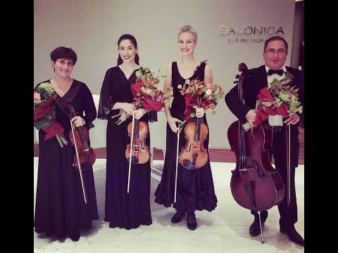 Concerto Quartet plays film music - Macedonia Palace  Thessaloniki