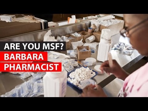 Pharmacist   MEDECINS SANS FRONTIERES - MIDDLE EAST