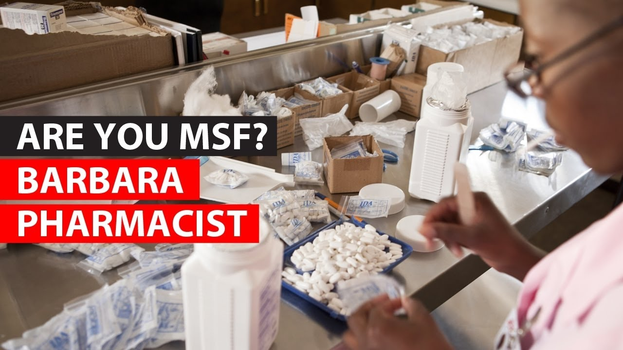 Pharmacist | MEDECINS SANS FRONTIERES - MIDDLE EAST
