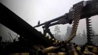 KSP 58 / FN MAG / AK 4 shooting