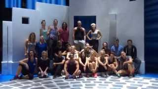 Behind the scenes of MAMMA MIA! International Tour