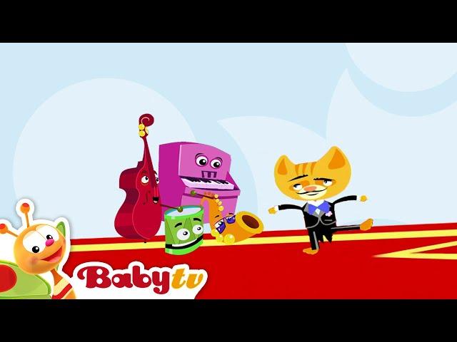 Los Jammers | Los gatos bailan al son del acordeón | BabyTV Español