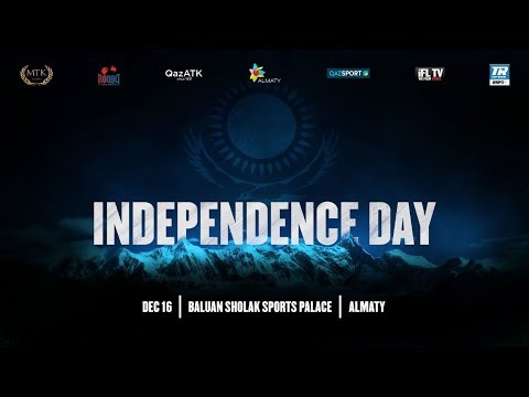 LIVE PROFESSIONAL BOXING! - MTK GLOBAL / ROUND 10 BOXING PRESENTS 'INDEPENDENCE DAY' (KAZAKHSTAN)