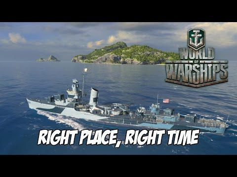 World of Warships - Right Place, Right Time