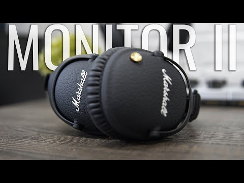Marshall Monitor II Complete Walkthrough: The Rockstars Do Noise Cancelling Headphones