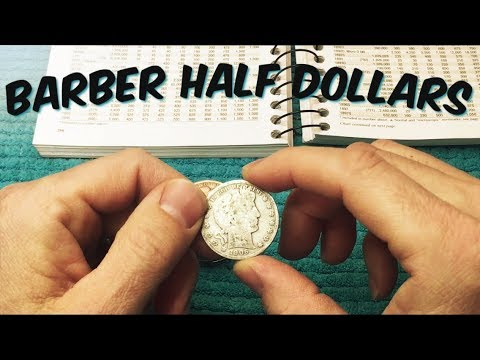 Searching A Tube Of Barber Half Dollars | APMEX